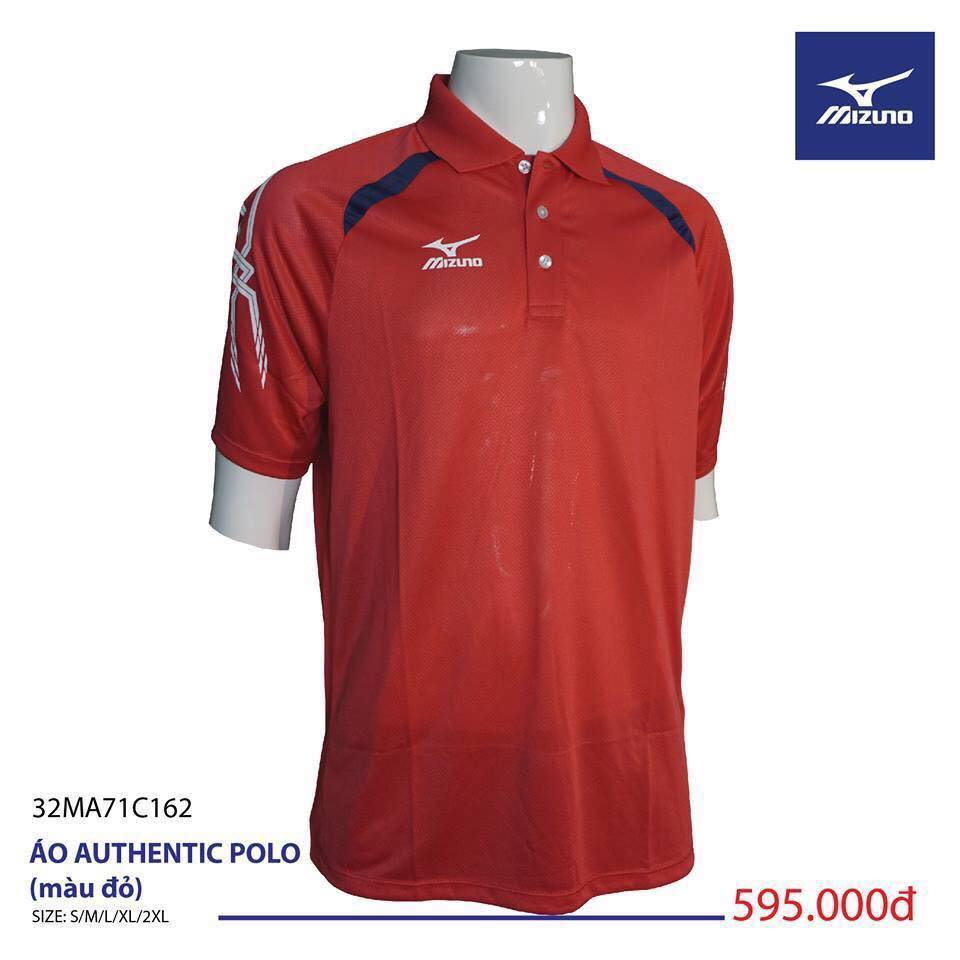 Áo Mizuno Authentic Polo ( đỏ )