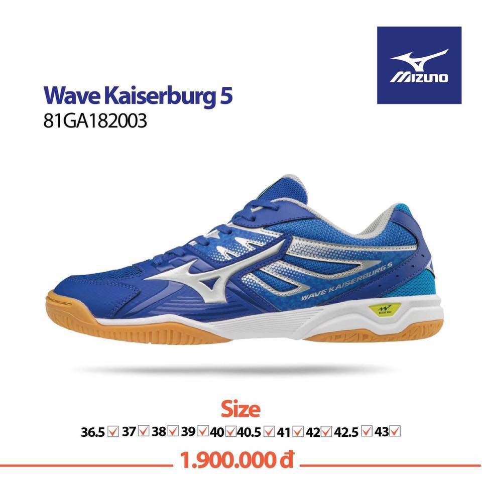 Mizuno Wave Kaiserburg 5 Blue