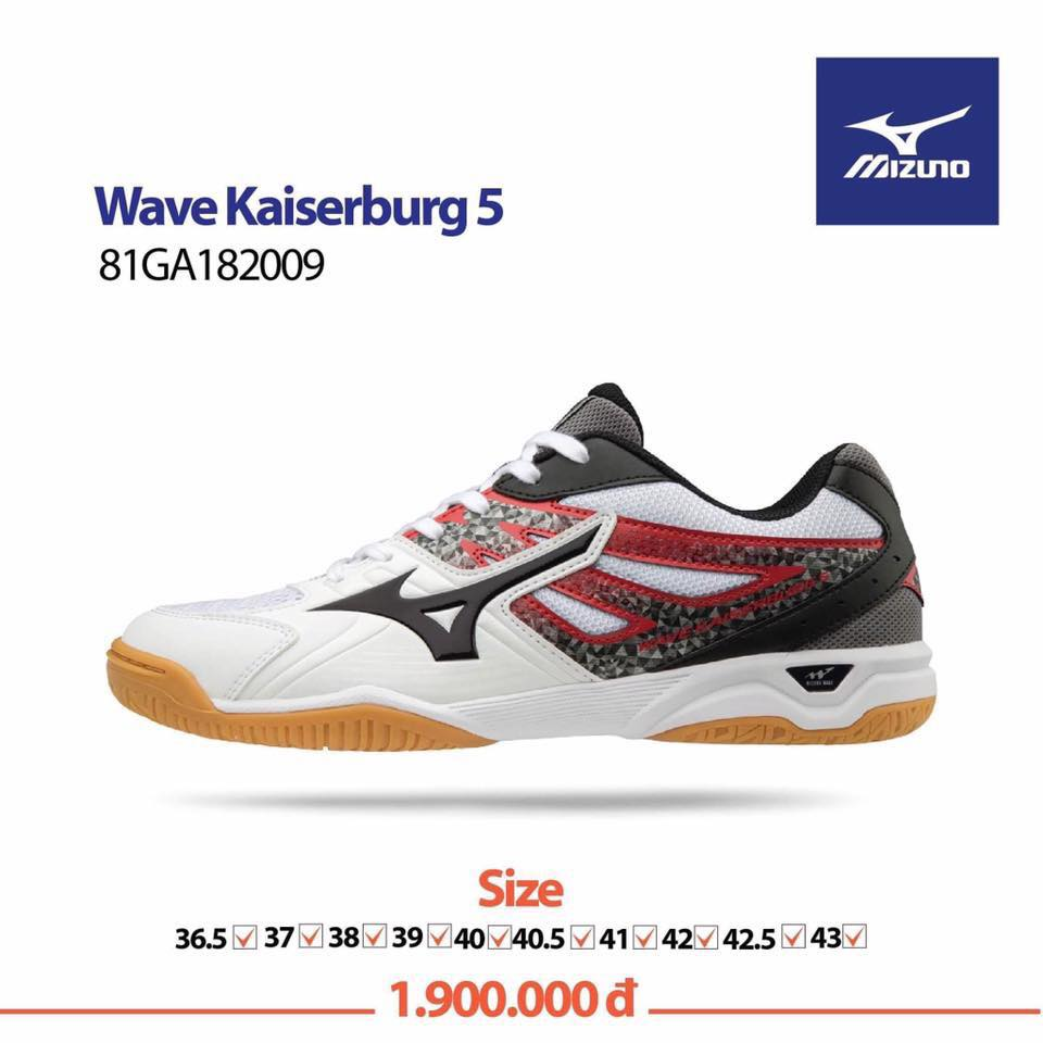 Mizuno Wave Kaiserburg 5 White