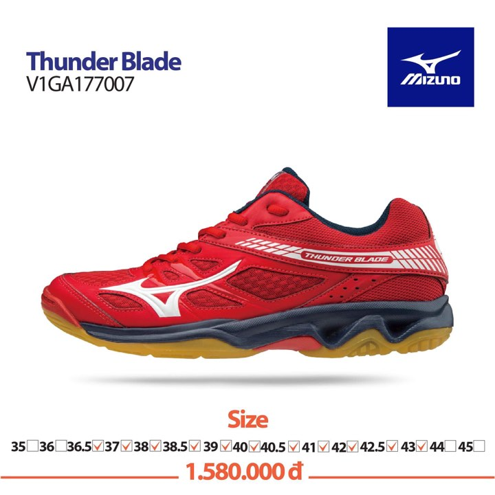 Mizuno Thunder Blade RED