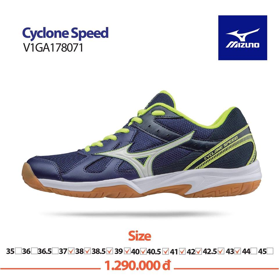Giày Mizuno Cyclone Speed 2018