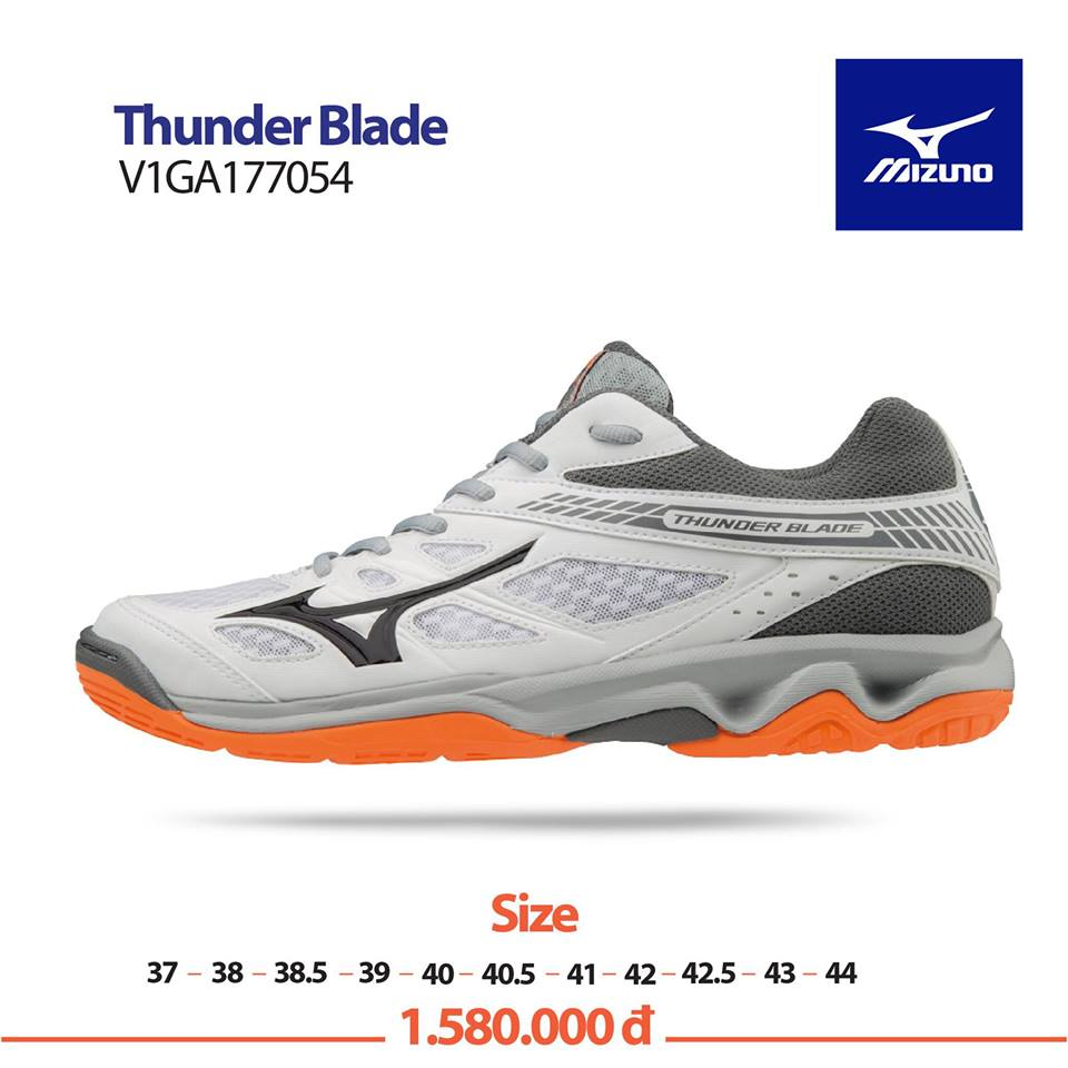 Mizuno Thunder Blade White Orange