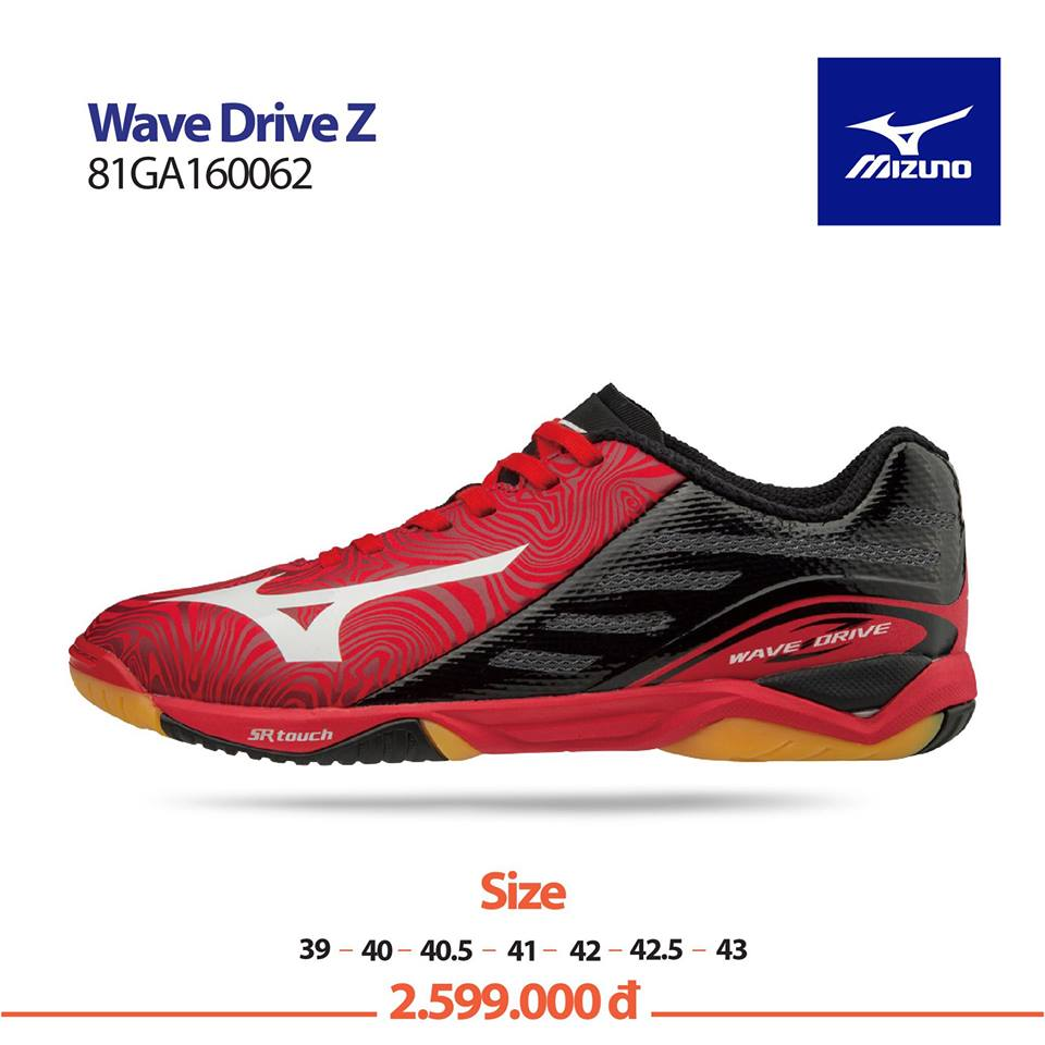Mizuno Wave Drive Z RED