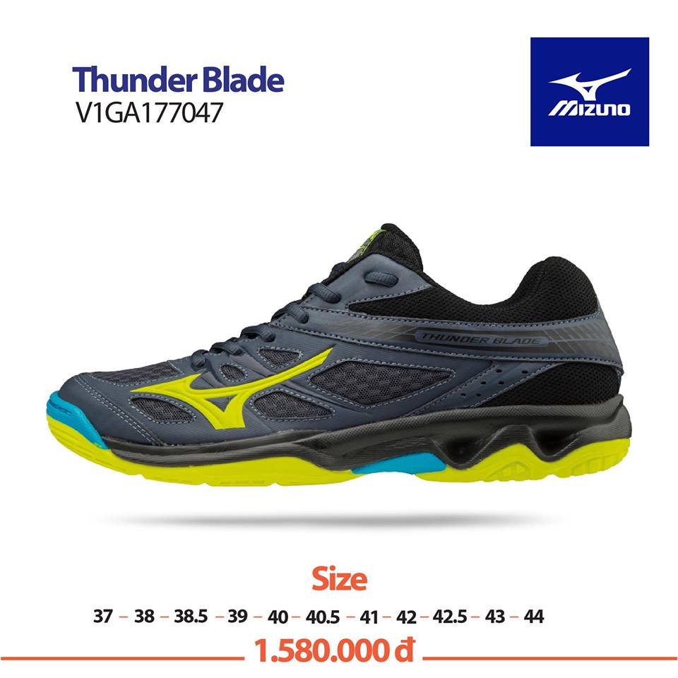 Mizuno Thunder Blade Black Yellow