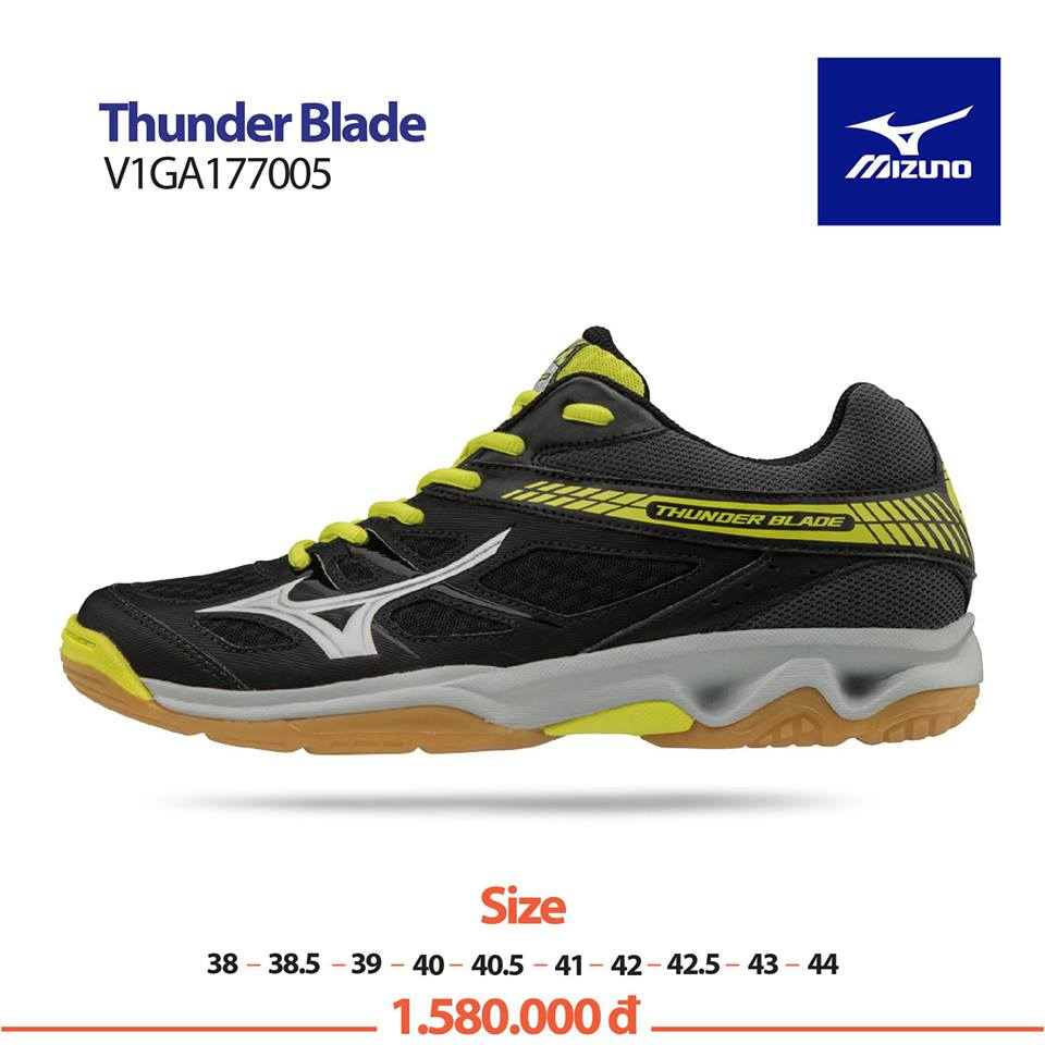 Mizuno Thunder Blade Black White